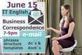IT English: Business Correspondence