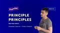 "Мастер-класс ""Principle principles"""