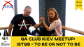 QA Club Kiev #19 event: ISTQB - to be or not to be