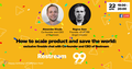 """Webinar """"How to scale product and save the world: exclusive fireside chat"""""""