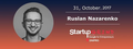 Startup Grind Dnipro #10 with Ruslan Nazarenko