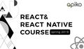 React & React Native Course Spring 2019