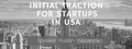 """Workshop """"Initial Traction for startups in USA"""""""