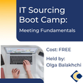 IT Sourcing Boot Camp