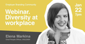 Webinar: Diversity at workplace