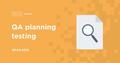 "WorkShop ""QA planning testing"""