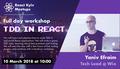 """Workshop """"TDD in React"""" by Yaniv Efraim"""