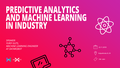 WTM doIT #7: Predictive Analytics and Machine Learning in Industry