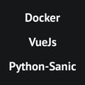 Создаем приложение: Docker, VueJs иPython-Sanic. Часть1