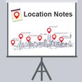 DOU Проектор: Location Notes— заметки обинтересных местах спривязкой ккарте