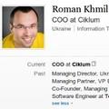 Роман Хмиль возглавит украинское представительство Ciklum истанет новым COO компании