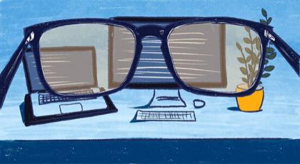 Здоров'я ІТ-спеціаліста: синдром сухого ока, спазм акомодації ікороткозорість
