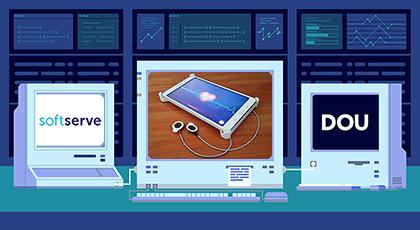 DOU Labs: якSoftServe створювала смарт-систему біометричної автентифікації
