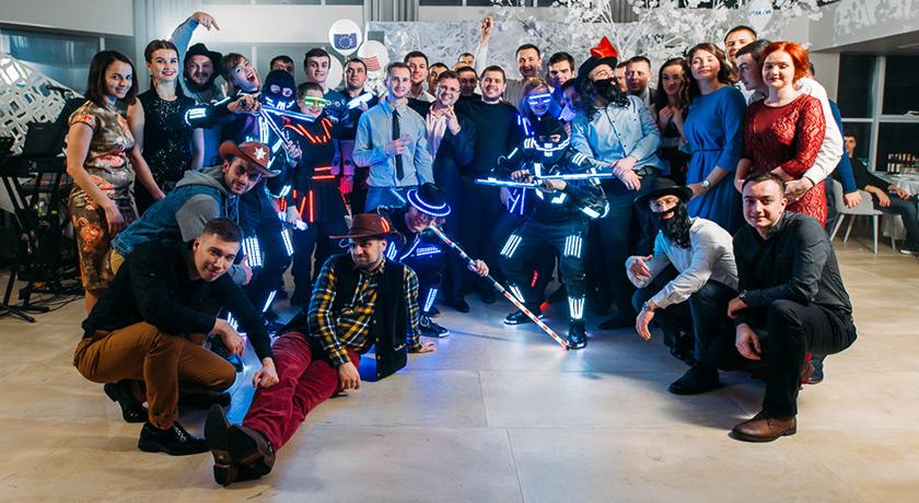 Как украинские IT-компании отпраздновали Новый год <b>2018</b> | DOU