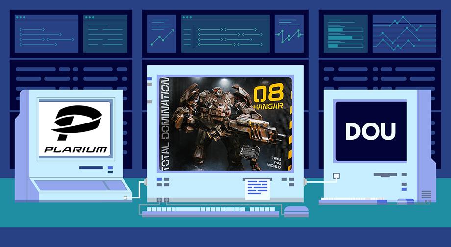 DOU Labs: как в Plarium научили говорить 800-килограммового робота