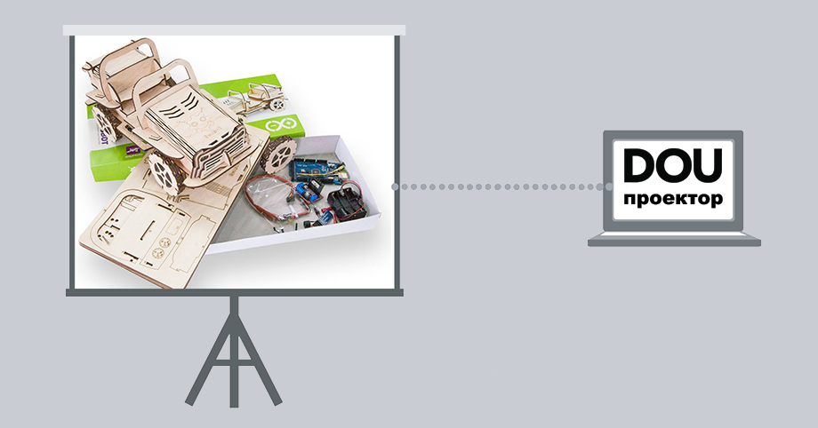DOU Проектор: EcoBot — екологічний смарт-конструктор для дітей і дорослих