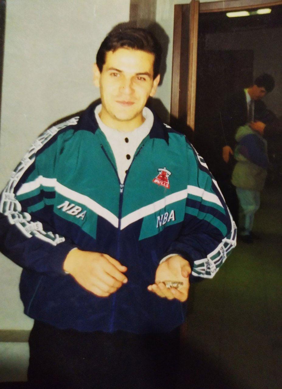На первой работе, 1993-1995 годы