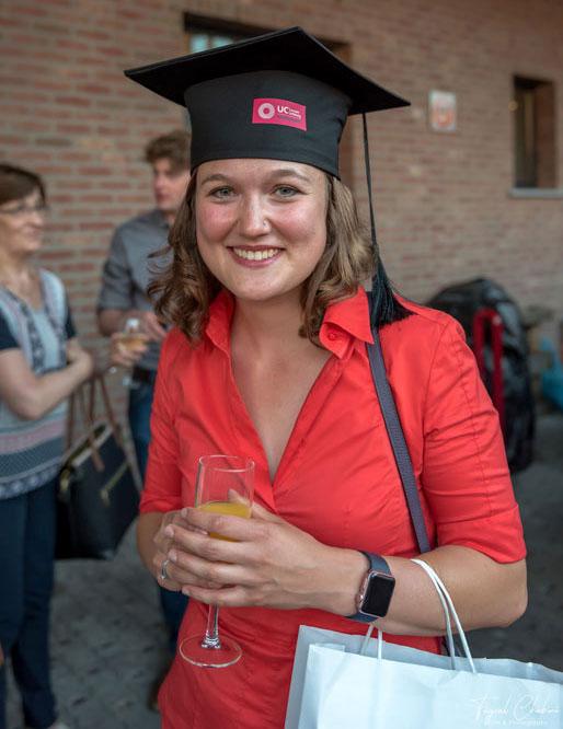 Вручение дипломов в колледже UCLL в городе Левен