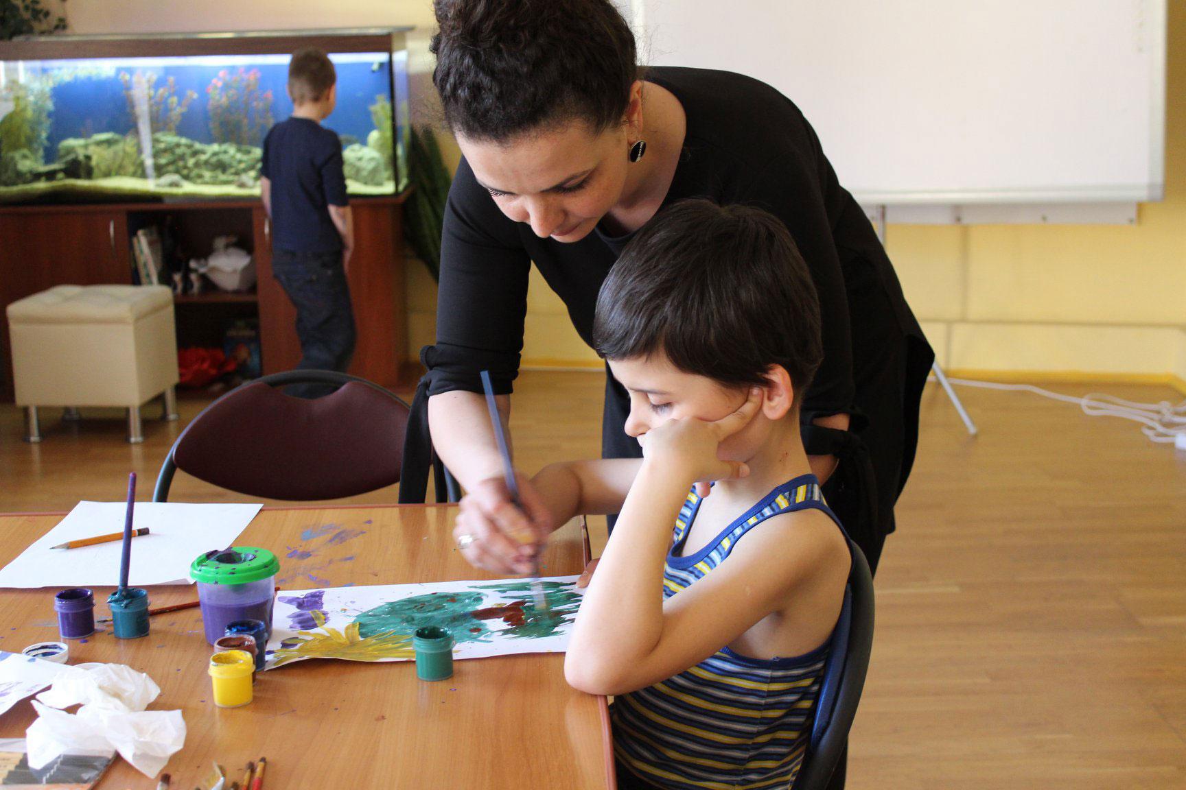 Дитяча арт-терапія у Сенсотеці