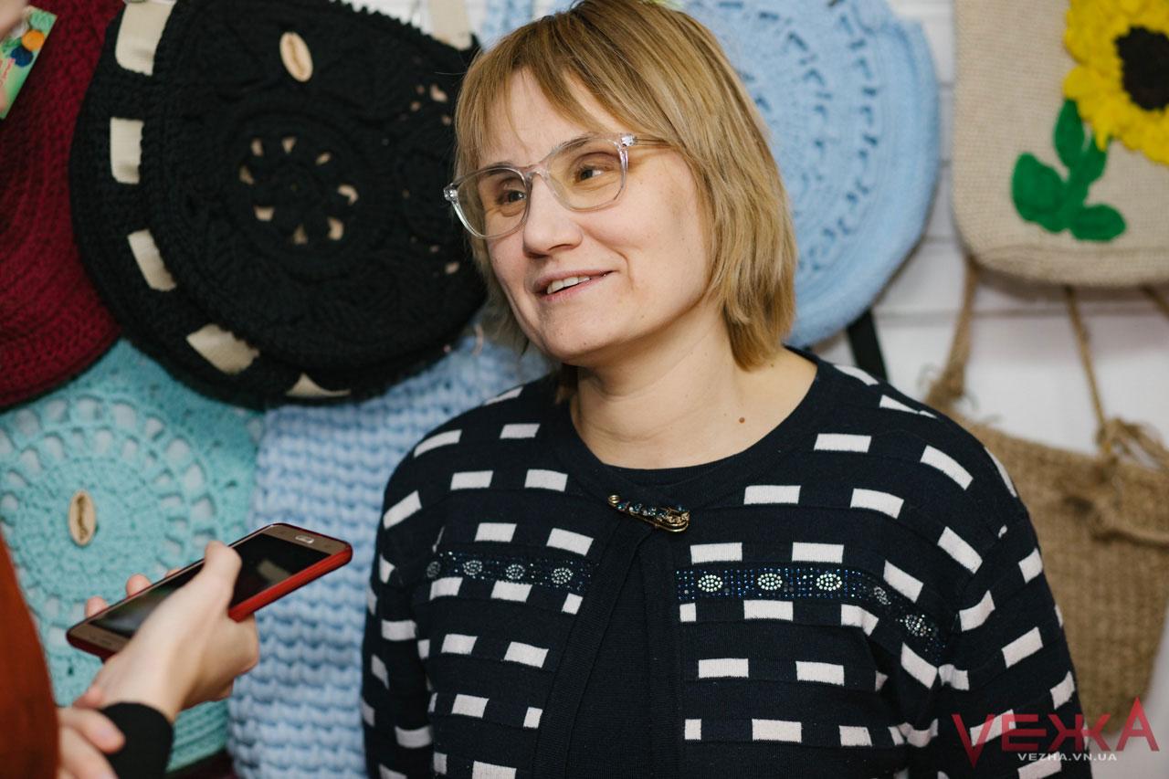 Засновниця «Handmade-клубок» Оксана Войтко