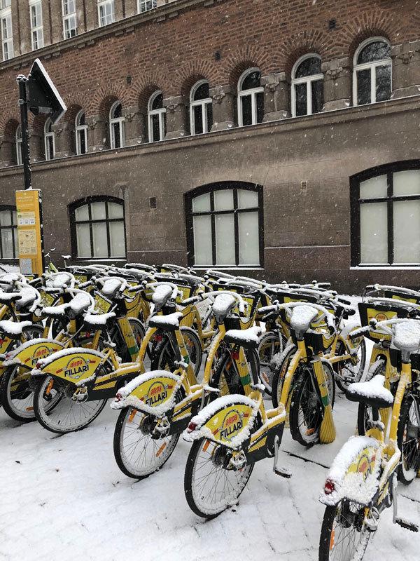 Велосипеди в Гельсінкі