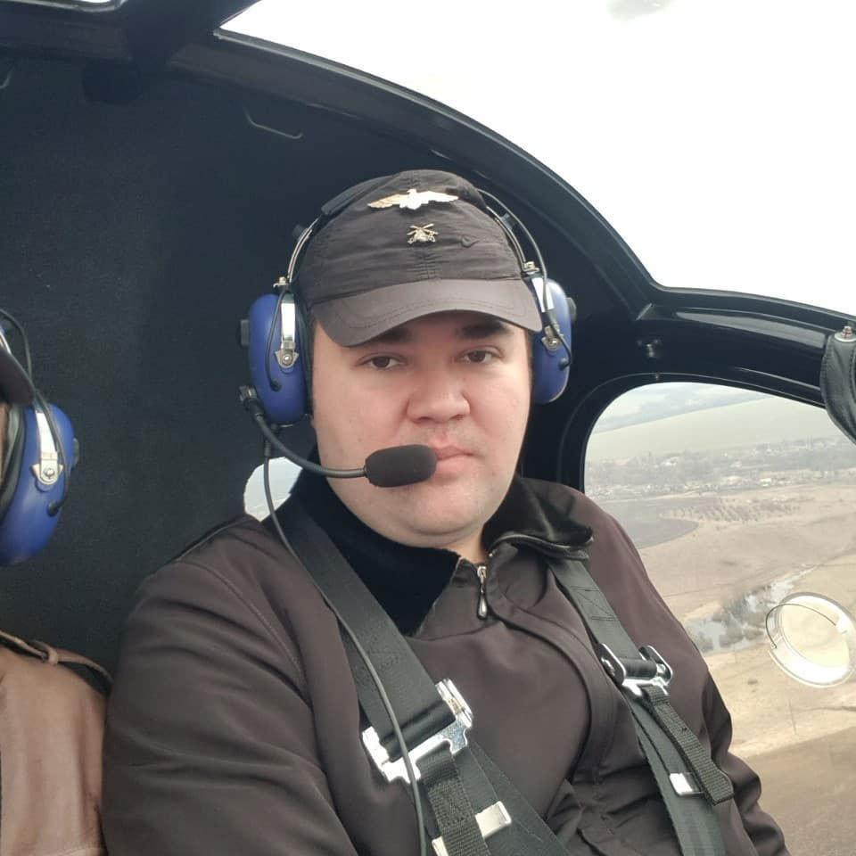 АК1-3 в полете, Харьковская область