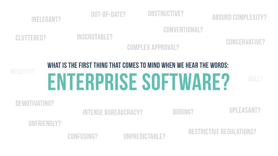 Как и зачем дизайнеру любить Enterprise UX