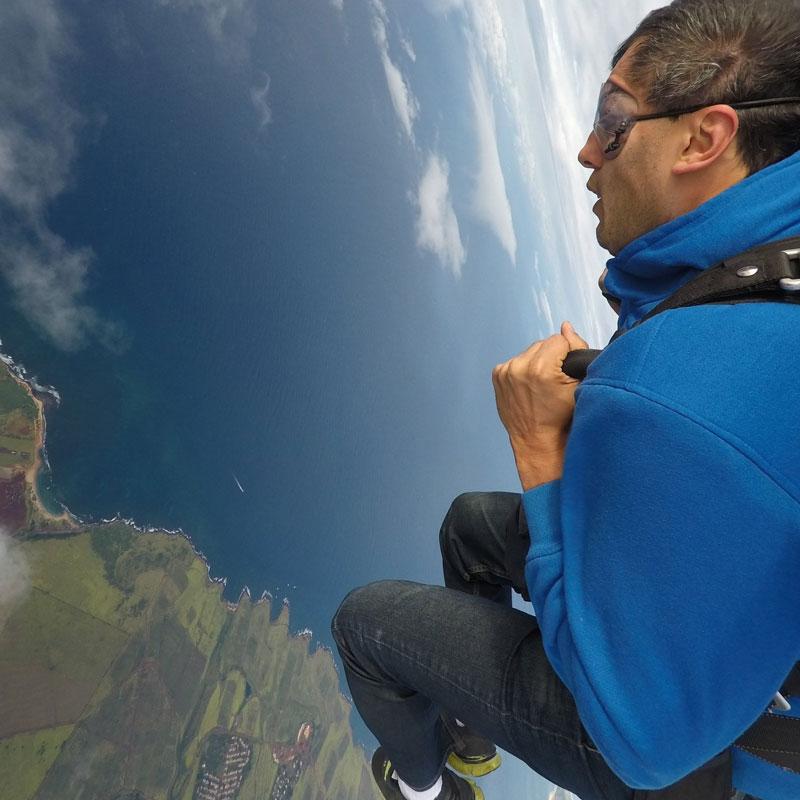 Прыжок с парашютом, 10 000 футов над Гавайями