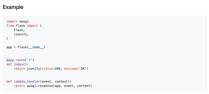 Безсерверні веб-застосунки на Python з використанням Lambda і Flask